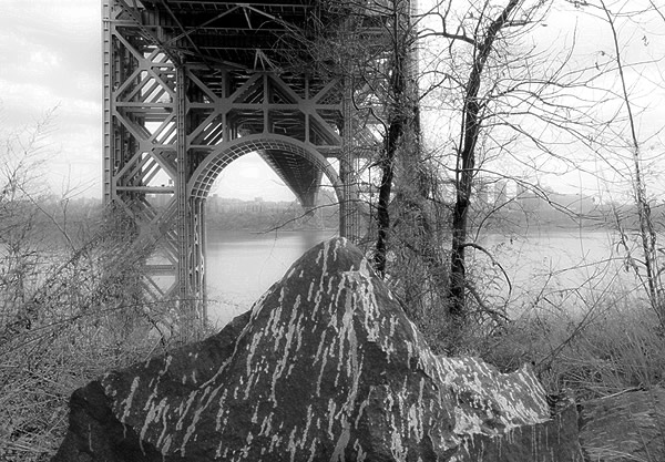 Landscape Painting / George Washington Bridge #34